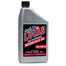 MOTOR OIL, HIGH PERFORMANCE, MINERAL, 10W40, 1 QT., SET OF 6, , scaau_hi-res