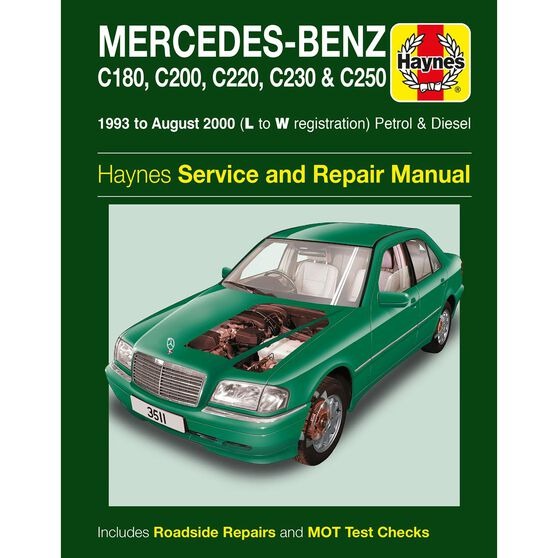 MERCEDES-BENZ C-CLASS PETROL & DIESEL (1993 - 2000), , scaau_hi-res