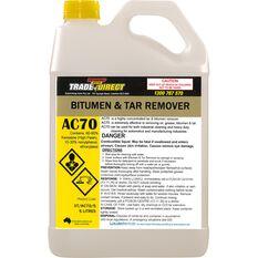 Bitumen & Tar Remover Bulk - 5L Flourinatred Bottle