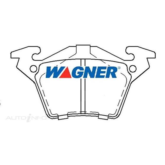 Wagner Brake pad [ Mercedes 1996-2003 R ], , scaau_hi-res