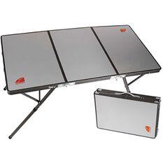Oztent Bi Fold Table - Aluminium Surface
