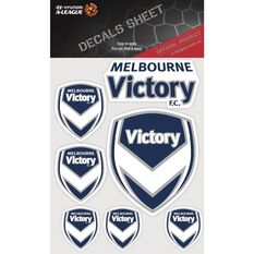 MELBOURNE VICTORY ITAG DECALS SHEET