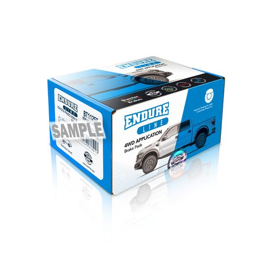 4WD BRAKE PADS SET, , scaau_hi-res