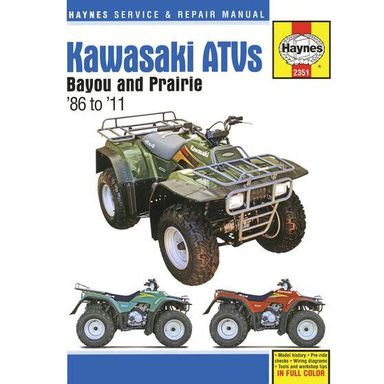 KAWASAKI BAYOU & PRAIRIE ATVS 1986 - 2011, , scaau_hi-res
