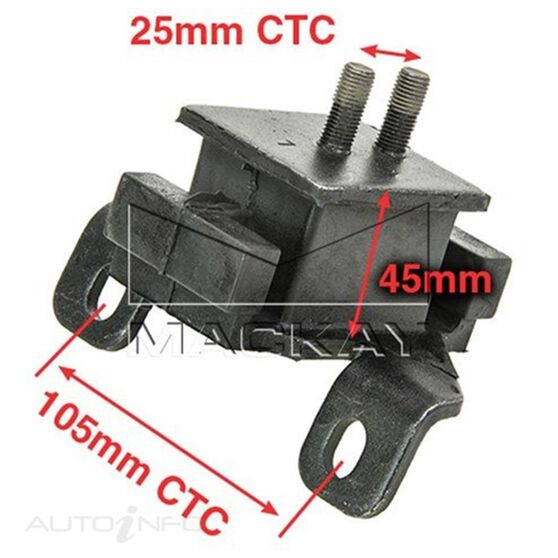 Engine Mount Front Left - GREAT WALL X200 CC - 2.0L I4 Turbo DIESEL - Manual & Auto, , scaau_hi-res