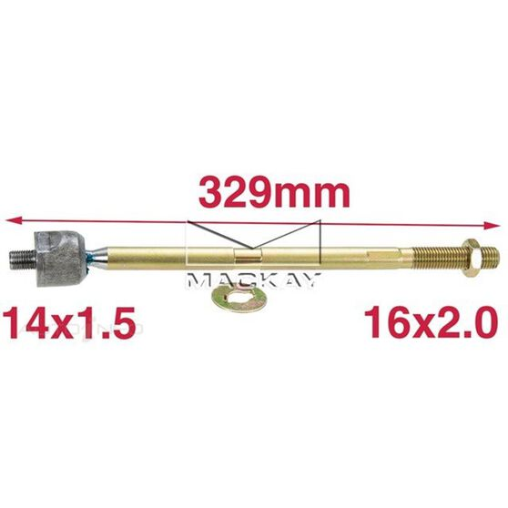 Steering Rack End Holden Commodore VT, VX, VY, VZ, WH, WK, WL, , scaau_hi-res