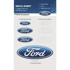 FORD ITAG DECALS SHEET - GRADIENT LOGO