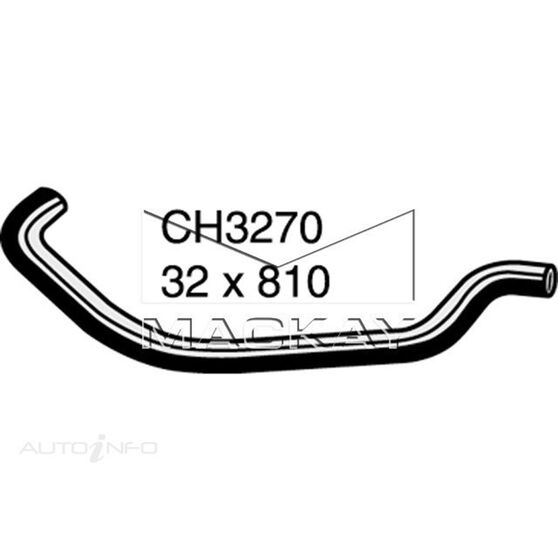 Radiator Upper Hose  - FORD TRANSIT VH - 2.4L I4 Turbo DIESEL - Manual & Auto, , scaau_hi-res