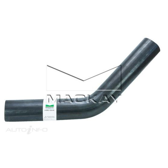 """45° Universal Hose Bend - Water Applications - 63mm (2 ½"""") ID - 300mm x 300mm Arm Lengths (EPDM Rubber), , scaau_hi-res"""