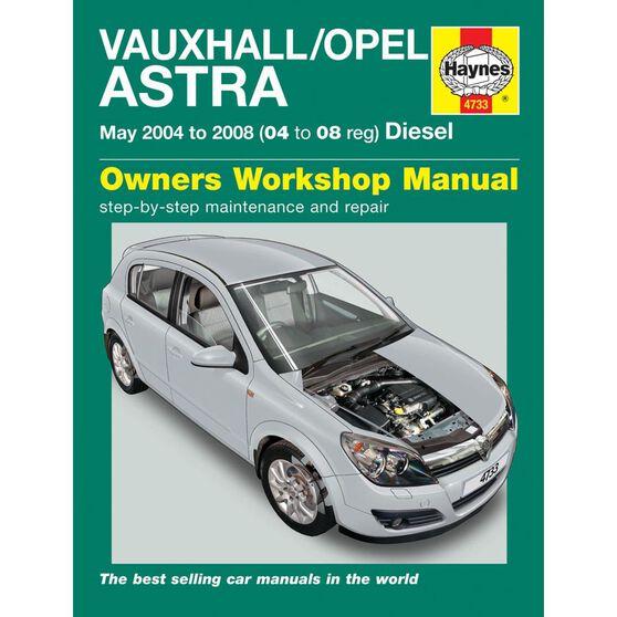 VAUXHALL/OPEL ASTRA DIESEL (MAY 2004 - 2008), , scaau_hi-res