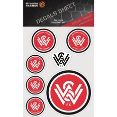 WESTERN SYDNEY WANDERERS ITAG DECALS SHEET