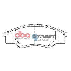 DBA SS STREET SERIES BRAKE PADS [ Toyota HI-Lux 2005-2008 F ], , scaau_hi-res