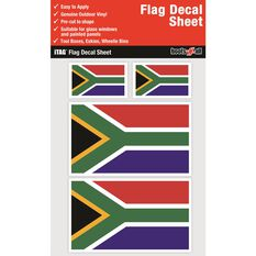 SOUTH AFRICA FLAG DECALS SHEET
