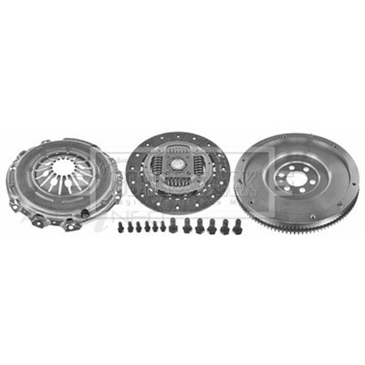Borg /& Beck HKT1050 Clutch 3-in-1 CSC Kit
