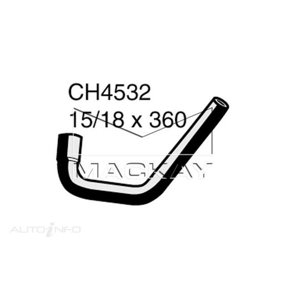 Engine Oil Cooler - Coolant Hose FORD Territory SY 4.0 Litre (6Cyl) Outlet (tubro)*, , scaau_hi-res