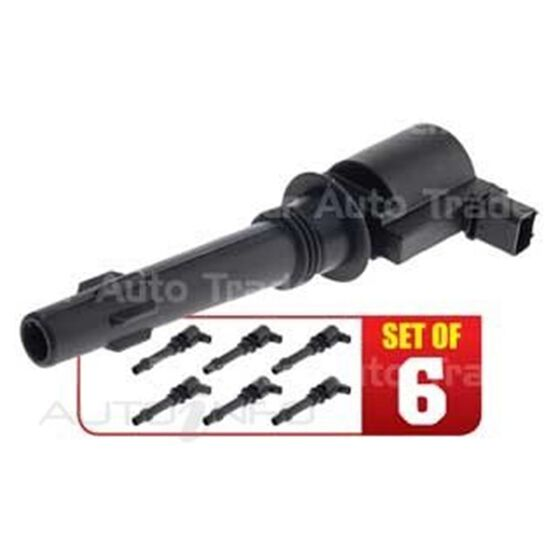 SET OF 6 IGNITION COILS, , scaau_hi-res