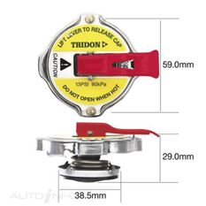 TRIDON LEVER RELEASE RECOVERY CAP, , scaau_hi-res