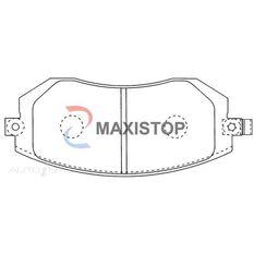 MAXISTOP DBP (F) FORESTER 2.5L, IMPREZA 2.0, 2.5L AWD, OUTBACK 2.5, 3.0L