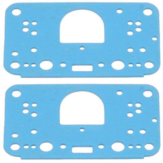 HOLLEY BLUE NON STICK METERING GASKET SUIT 3 CIRCUIT 4500, , scaau_hi-res
