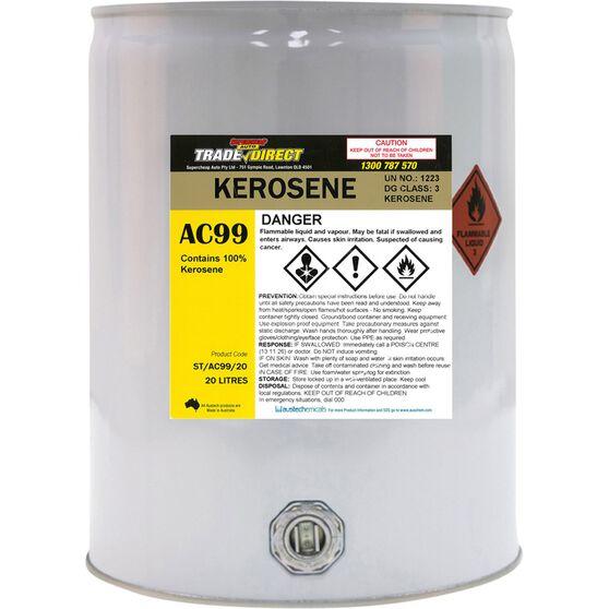 Trade Direct Kerosene Clear Bulk - 20L