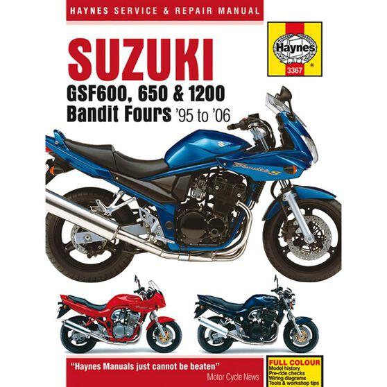 SUZUKI GSF600, 650 & 1200 BANDIT FOURS 1995 - 2006, , scaau_hi-res