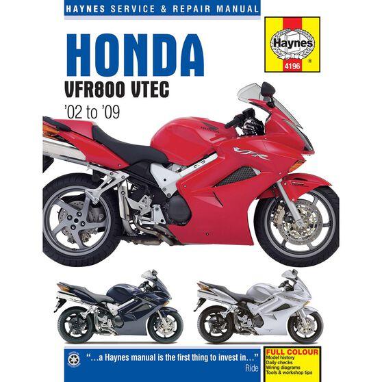 HONDA VFR V-TEC V-FOURS 2002 - 2009, , scaau_hi-res