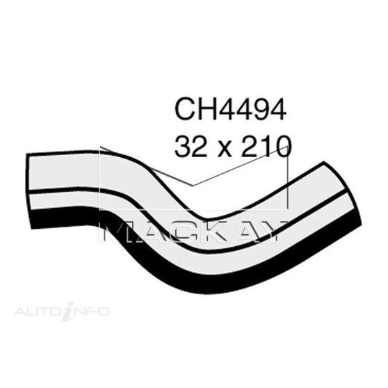 Radiator Upper Hose  - HUMMER H3 . - 3.7L I5  PETROL - Manual & Auto, , scaau_hi-res