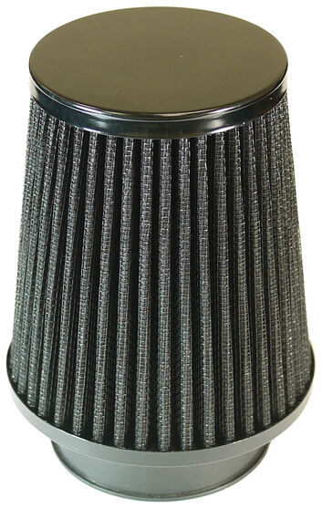 SAAS PERFORMANCE BLACK SMALL CONE POD FILTER 76MM, , scaau_hi-res