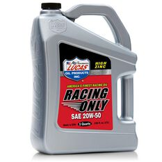 MOTOR OIL, RACE ONLY, MINERAL, 20W50, 5QT