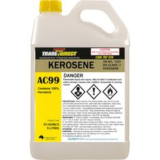 Kerosine Clear - 5L Fluorinated Bottle, , scaau_hi-res