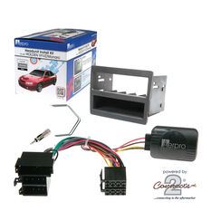 INSTALL KIT TO SUIT HOLDEN COMMODORE VY SERIES I, II; VZ & STATESMAN WK, WL (GREY), , scaau_hi-res