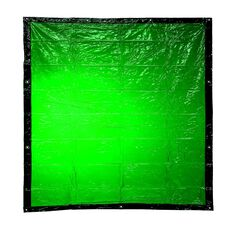 BOSSSAFE 1.8MT X 1.3MT GREEN WELDING CURTAIN, , scaau_hi-res