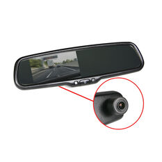 "4.3""DISPLAY OEM REPLACEMENT AUTO DIMMING MIRROR WITH BUILT IN DASH CAM, , scaau_hi-res"