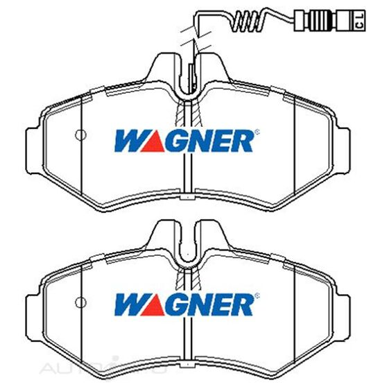 Wagner Brake pad  [ Dodge/Mercedes & VW 1995-2014 R ], , scaau_hi-res