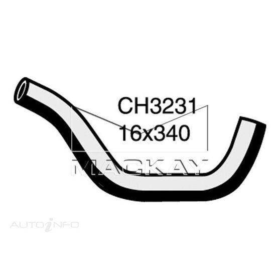 Heater Hose  - TOYOTA LANDCRUISER FJ62R - 4.0L I6  PETROL - Manual & Auto, , scaau_hi-res