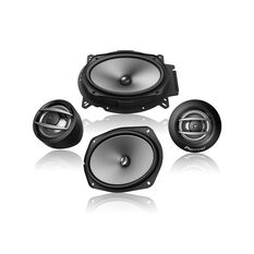 "COMPONENT SPEAKERS  2 WAY 6X9"" 400W MAX, 100W NOMINAL INPUT (INC ADAPTOR PLATES)"