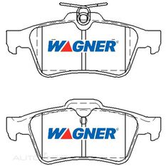 Wagner Brake pad [ Citroen/ Ford/ Holden/Mazda/SAAB & Volvo 2004-14 R ], , scaau_hi-res