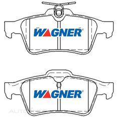 Wagner Brake pad [ Citroen/ Ford/ Holden/Mazda/SAAB & Volvo 2004-14 R ]