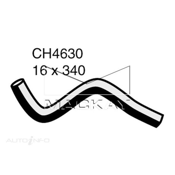 Heater Hose  - FORD RANGER PJ, PK - 3.0L I4 Turbo DIESEL - Manual & Auto, , scaau_hi-res