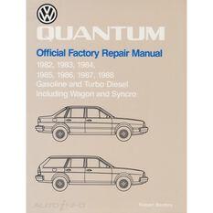 REPMAN  VW QUANTAM (GAS&TURB DIES INC WAGON&SYNCRO) 1982-1988  9780837603414