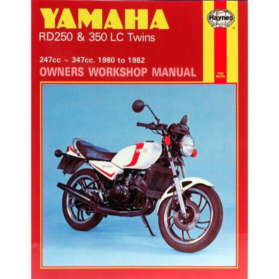YAMAHA RD250 & 350LC TWINS 1980 - 1982, , scaau_hi-res