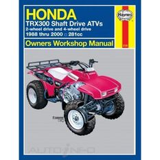 HONDA TRX300 SHAFT DRIVE ATVS 1988 - 2000, , scaau_hi-res