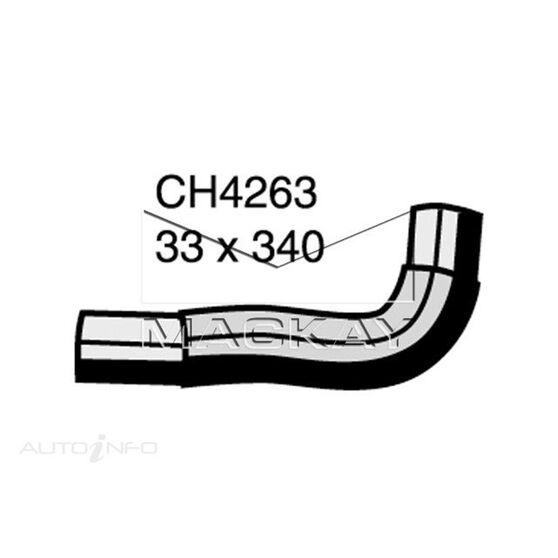 Radiator Upper Hose  - MAZDA E2500 . - 2.5L I4  DIESEL - Manual & Auto, , scaau_hi-res