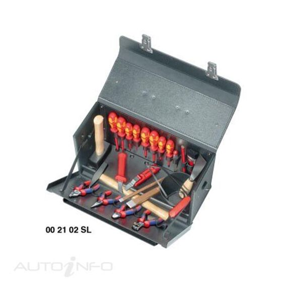 KNIPEX 1000V TOOL CASE 24 PARTS, , scaau_hi-res