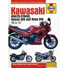 KAWASAKI 454LTD/LTD450, VULCAN 500 & NINJA 250 1985 TO 2007, , scaau_hi-res