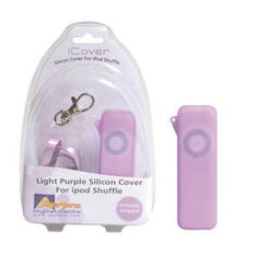 ICOVER PURPLE - SUIT IPOD SHUFFLE SILICON CASE, , scaau_hi-res