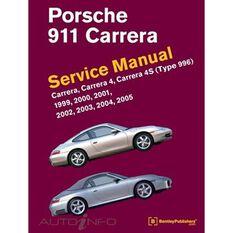 SERVMAN  PORSCHE 911 CARRERA (CARRERA.CARRERA4 CARRERA4S TYPE996) 1999-2005    9780837617107