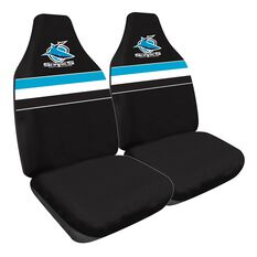 NRL SHARKS SEAT COVER SIZE 60