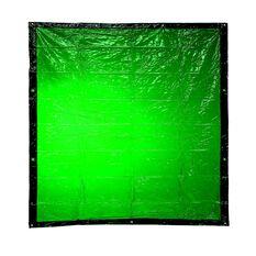 BOSSSAFE 1.8MT X 3.4MT GREEN WELDING CURTAIN