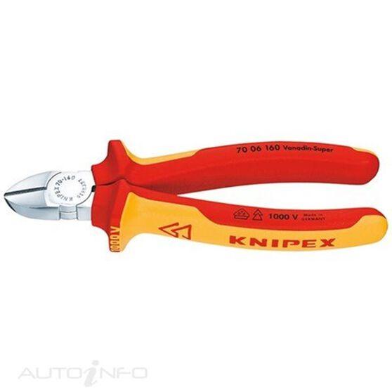 KNIPEX 1000V DIAGONAL CUTTER 125MM, , scaau_hi-res